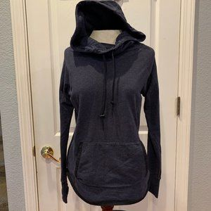 Athleta Blue Hooded Sweatshirt - Size Small